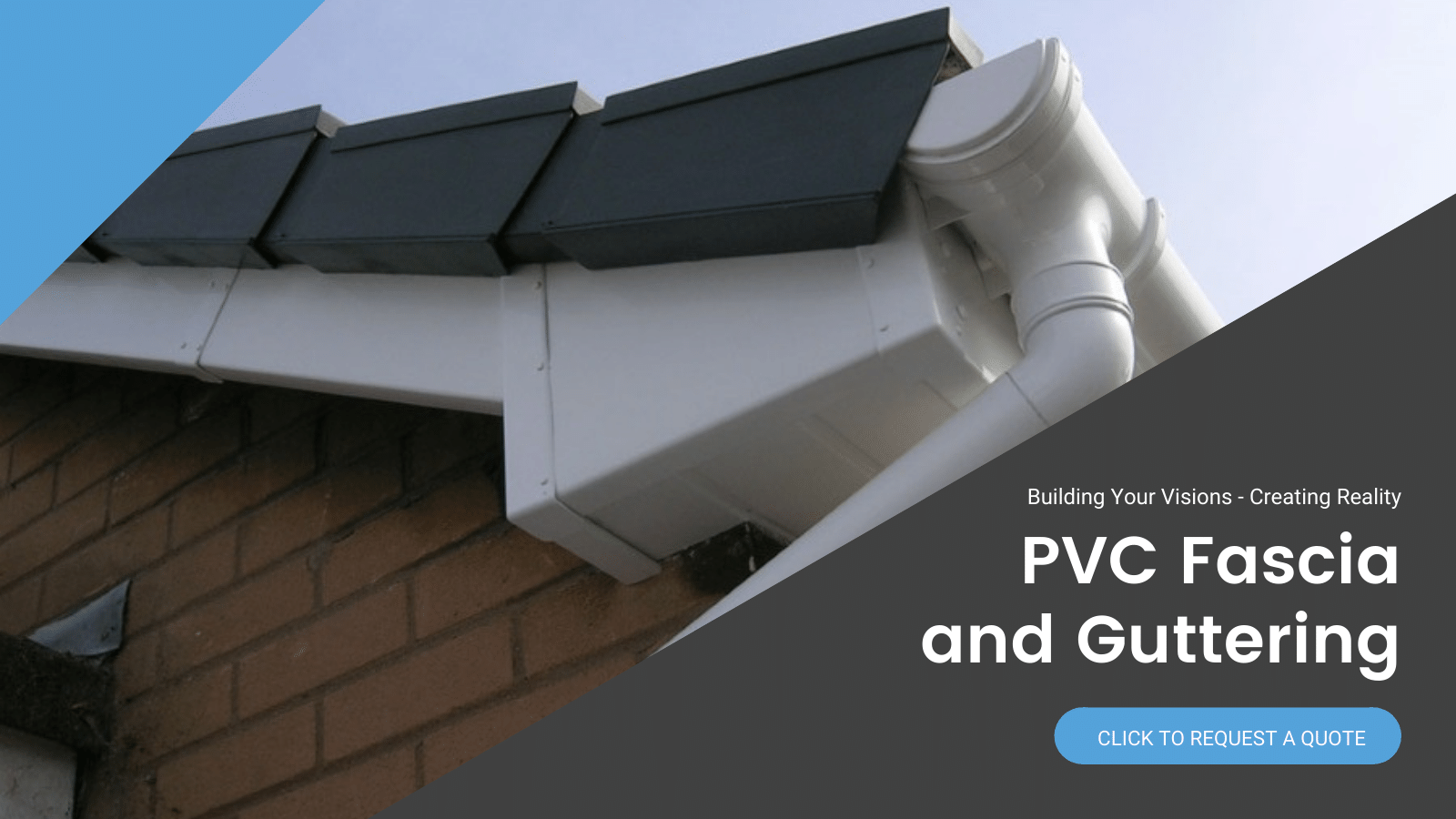 PVC Fascia and Guttering